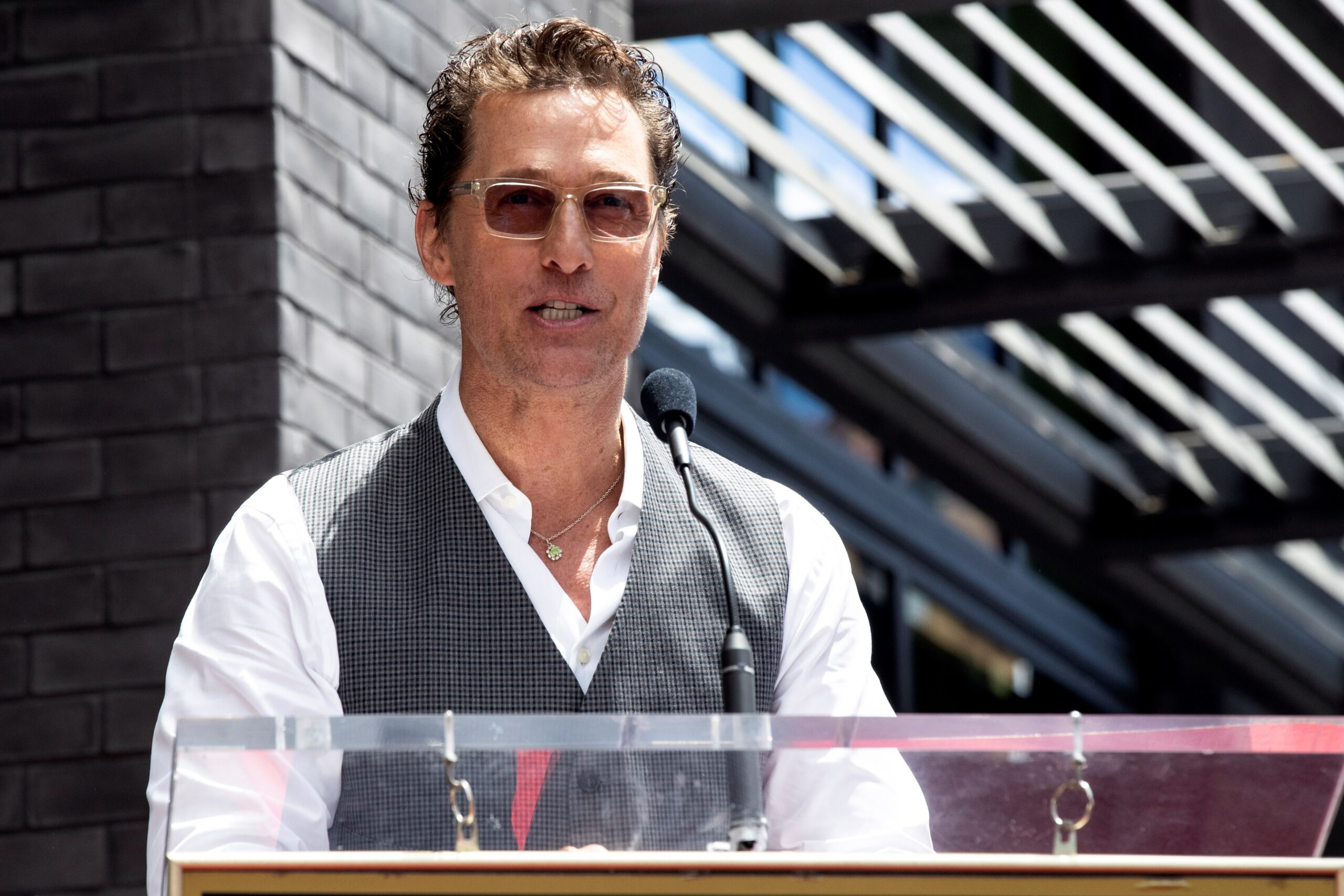 Matthew McConaughey, on his own pages