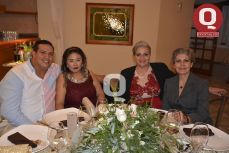Jesús David Barrera, Lupita Rangel, Esther Aguilera y Patty Muñoz