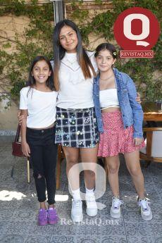 Fátima Hinojosa, Sofía González y Fernanda Villa