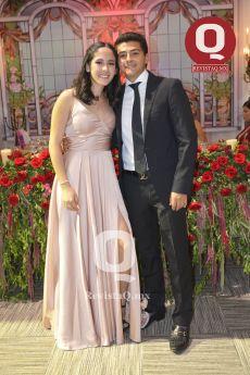 Gabriela García y Emmanuel Carreón