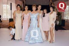 Maribel Saucedo, Selene Saucedo, Luz María Hernández, Julieta Saucedo, Fátima Carreón y Luz María Carreón
