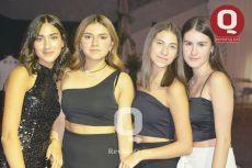 Valeria Tenorio, Fernanda Rivera, Sofía L. y Sylvana Mares.