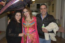 Gabriela Romero, Lucero González y Mauricio Andrade.