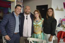 Miguel Ángel Loza, Rosendo López, Lucero y Yadira Hurtado.