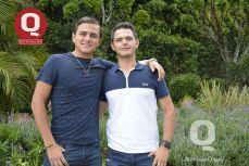 Chava Villegas y Fabricio Mendoza