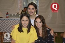 Isabella Rodríguez, Andrea López y Sofía Esquivel