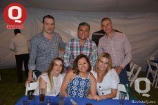 Amigos e invitados de Antonio Castro en su cumpleaños