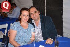 Edith de la Torre y Baldomero Sánchez