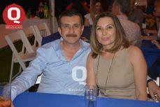 Jaime Rocha con Cecilia Villalpando