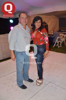Marcelo Luz y Ana Alonso