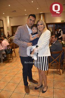 Alejandro Llamas, Liliana Llamas y Leslie Sánchez