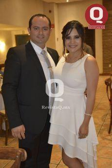 Arturo Azua y Zaira Sánchez, papás de la pequeña Bárbara Azua