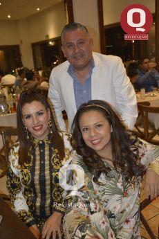 Mariano González, Sandra Ortiz y Lilí Sánchez