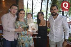 Fabriccio Guzmán, Sheyla Milán, André Milán, Andrea Fraustro y Omar Moreno