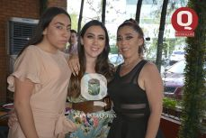 Sharid Michel, Sheyla Milán y Claudia Suárez.