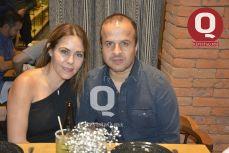 Araceli Pérez y Ulises Romero.