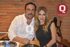 Edgardo Pérez y Zaira Hernández
