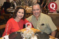 Lizet Ferreira y Hugo Padilla