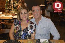 Lorena y Alejandro Lozano.