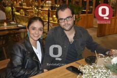 Martha Rojas y Jordi Recasens.