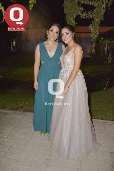 Andrea Salas junto a Mariana Salas