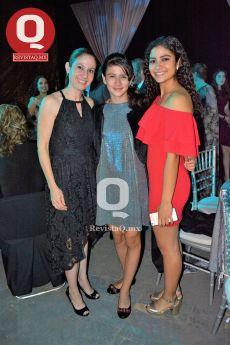 Daniela Torres Neri, Giovanna Ruiz Esparza y Melissa Andrade