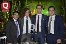 Edgar Valdés, Sebastián Pérez, Miguel Perezcalva y Diego Briseño