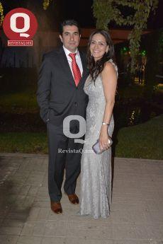 Fernando Plasencia y Natalia Mendoza