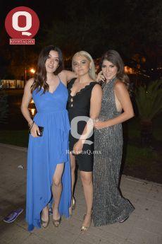 Laura Rábago, Valeria Medina y ...