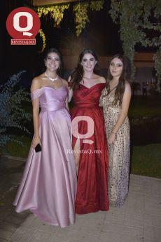 Mirjana Herrera, Fernanda Tafoya y América Hill