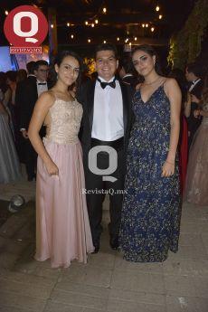 Sofía Fuentes, Toño Bribiesca y Luisa Díaz