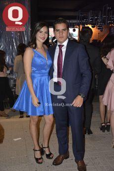 Aranza Quiroz y Carlos Escalante