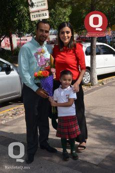 Diego Palma, Claudia Hernández y Valentina Palma