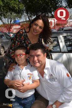 Fátima Gutiérrez, Juan Martínez y Juan Martínez