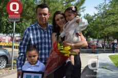 Fito Ponce, Haggit Rocillo, Mariano Ponce y Eloisa Ponce