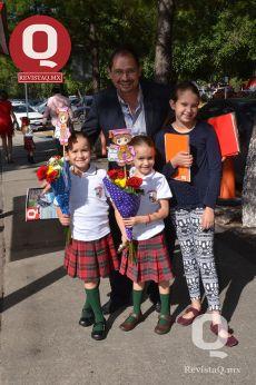 Luis Ortuño, Karla Ortuño, Angela Ortuño y Luisa Ortuño
