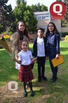 Mónica López, Jessica Gutiérrez, Brenda Gutiérrez y Arturo Gutiérrez