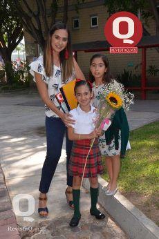 Mayra Cruz, Luciana Muñoz y Fabiana Muñoz