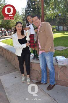 Nancy Díaz, Luisa Díaz y Jorge Ornelas
