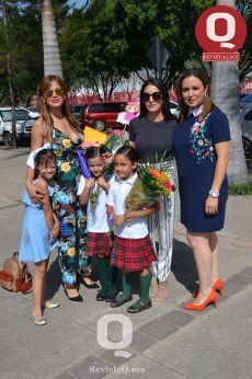 Paulina Andrade, Ana Yáñez, Iveth Rizo, Sofía Aguirre, Fernanda Aguirre y Ana Pau Padilla