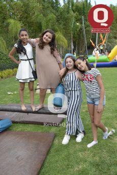 Briana Oliva, Galilea León, Alice Escobar y Marié Pérez
