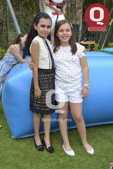 Camila Bucio y Pilar Romero