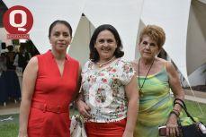 Coni García, Alicia Escobar y Alicia Pérez