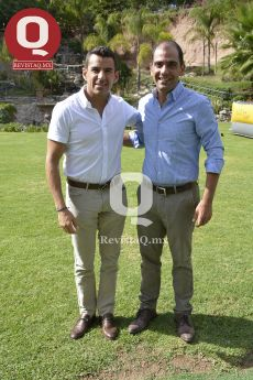 Germán Aranda y Yamil Nassar