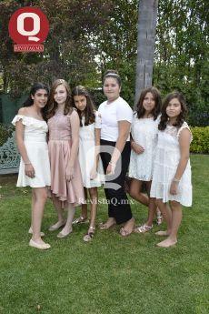 Miranda Márquez, Fernanda Ramírez, María Andrea Aranda, Camila Aguilar y Pau Velázquez