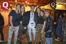Marco Orozco, Alejandra Gómez, Marcelo Kornhauser, Natalia Wall, Ana Fuentes y Karen Macías
