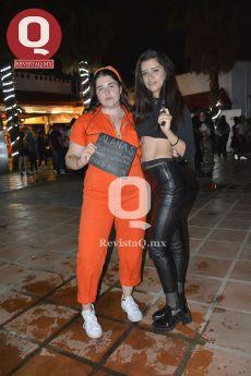 Alana Salmón y Melanie Jaime