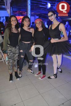 Alejandra García, Sofía Gómez, Paulina Correa y Camila Torres
