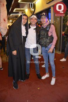 Alejandro Angulo, Omar Martínez y Edgar González
