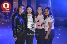 Nuria Fernández, Alejandra Rodríguez, Andrea Acosta y Ximena Herrera